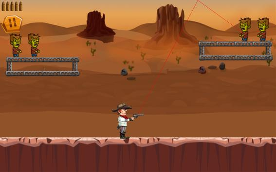 CowBoy Shoot Zombies apk screenshot