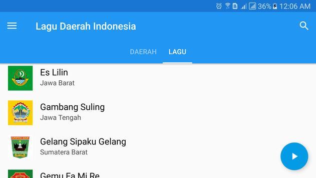 Lagu Daerah Indonesia screenshot 10