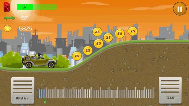 Up Hill Climb Racing apk screenshot