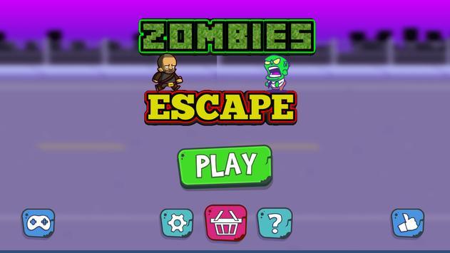 Zombies Escape poster