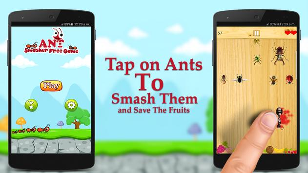 Ant Smasher Free Game poster