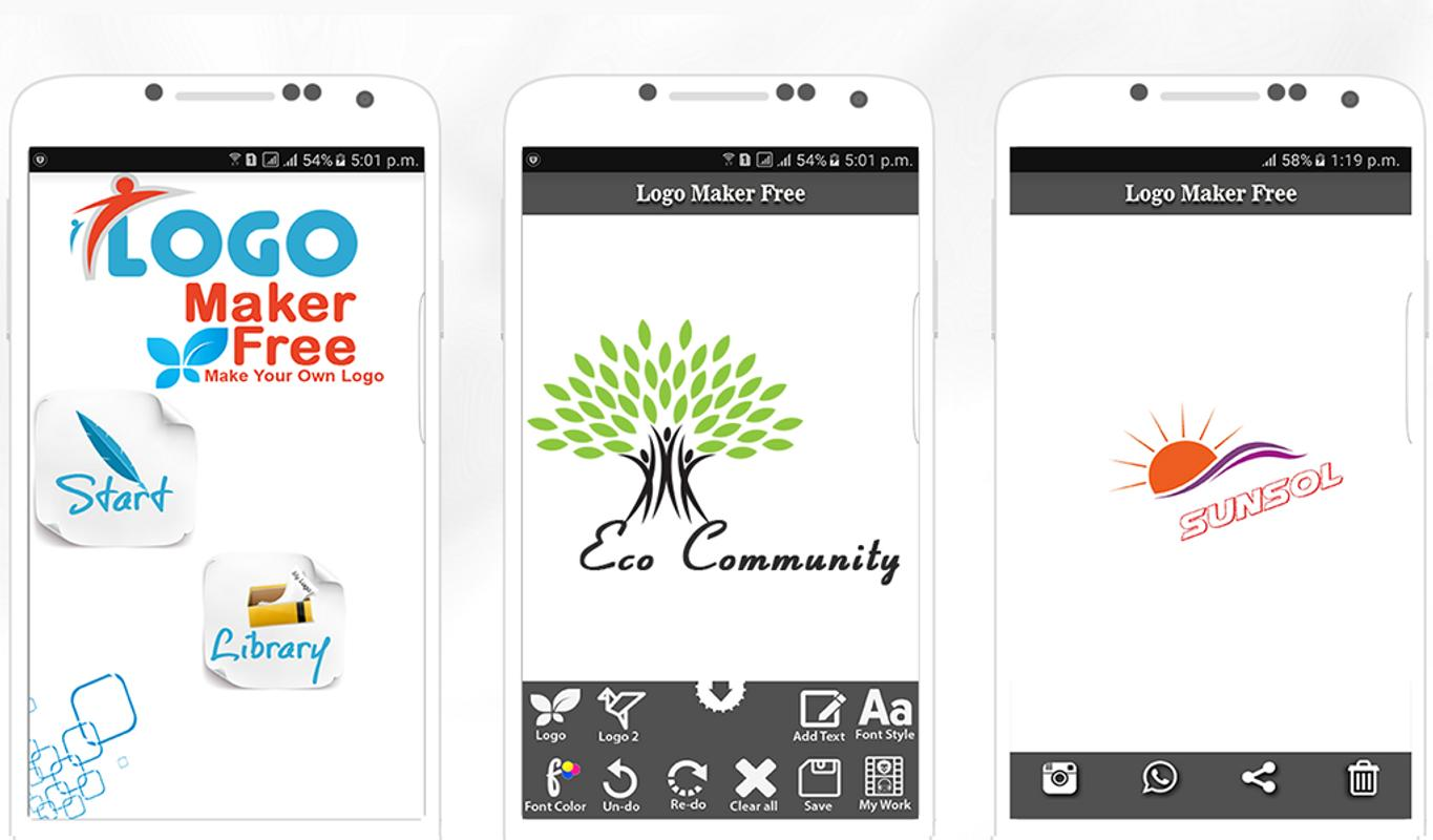 Logo maker free apk download free art design app for for Free blueprint maker app