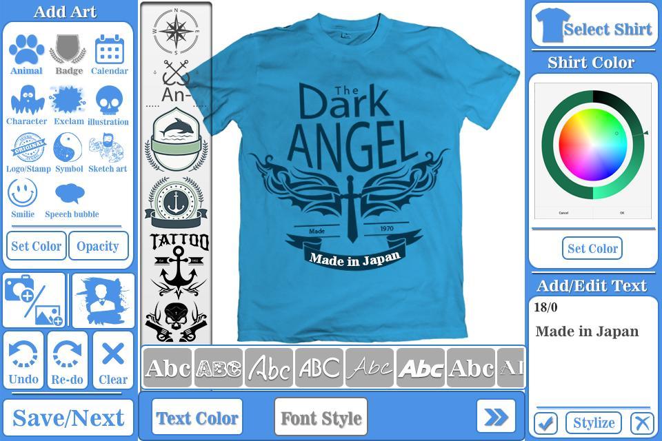 T Shirt Design Maker For Android Apk Download