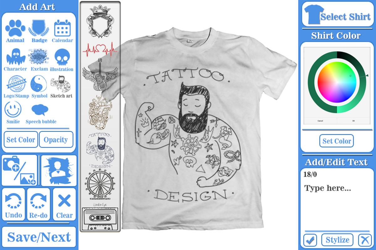 T shirt design maker apk download free photography app Apps to design t shirts