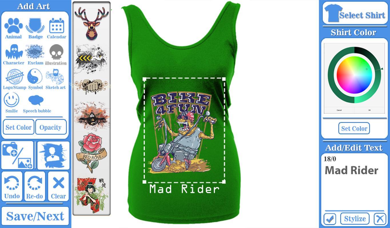 T-shirt design maker for Android - APK Download df57928efcc7