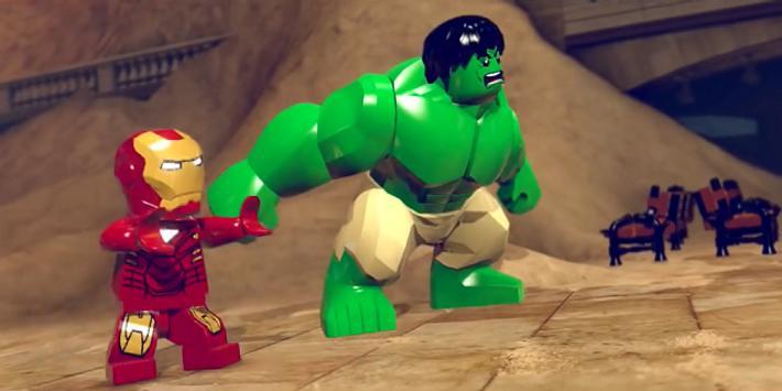 Gemsboost Of Lego Human Heroes poster