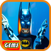 Gemstreak@ LEGO Super Bat Heroes icon