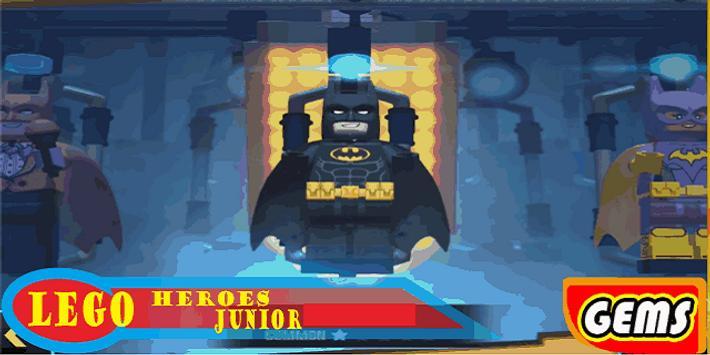 Gemstreak@ LEGO Super Bat Heroes poster