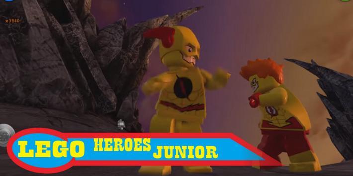 Gemstreak Of Lego Flash Heroes poster