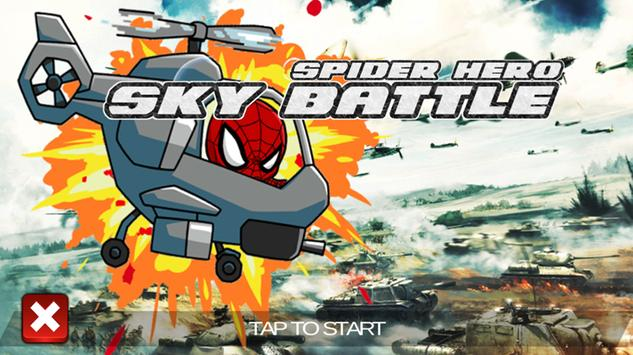 Sky Spider Hero Battle - War Hero 2018 screenshot 3