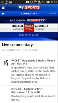 Sky Sports Live Cricket SC screenshot 4