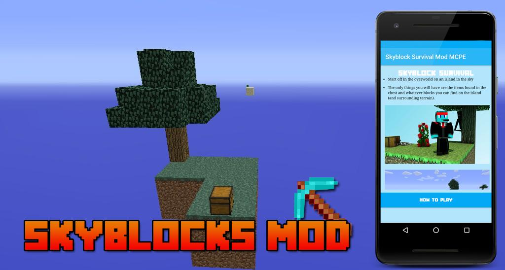 Skyblock Survival Mod MCPE for Android - APK Download