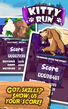 Kitty Run - Crazy Cats apk screenshot