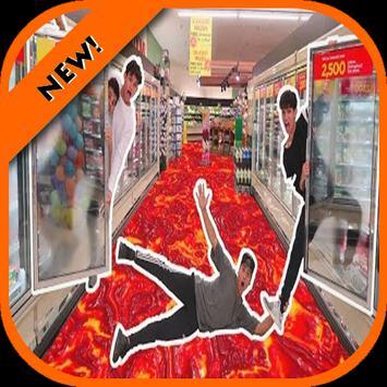 Top Floor is Lava Challenge poster
