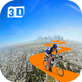 99% Impossible Bicycle Stunt icon