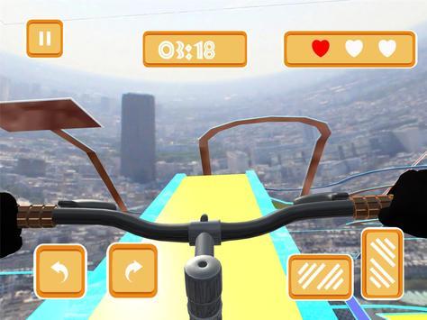 99% Impossible Bicycle Stunt screenshot 1