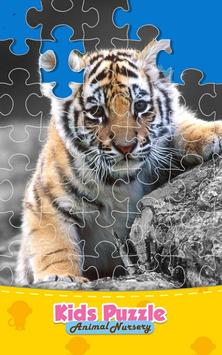 Animal Jigsaw Puzzle Kids Game poster