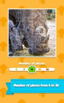 Animal Jigsaw Puzzle Kids Game screenshot 1