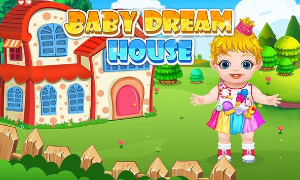 Dream House Makeover Kids Game poster