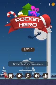 Rocket Hero Cannon Shooter poster
