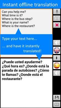 Traductor sin conexión: traducir inglés-español captura de pantalla 2