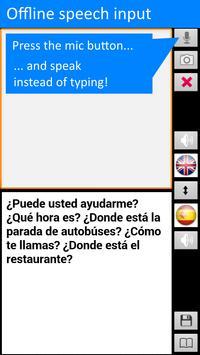 Traductor sin conexión: traducir inglés-español captura de pantalla 3