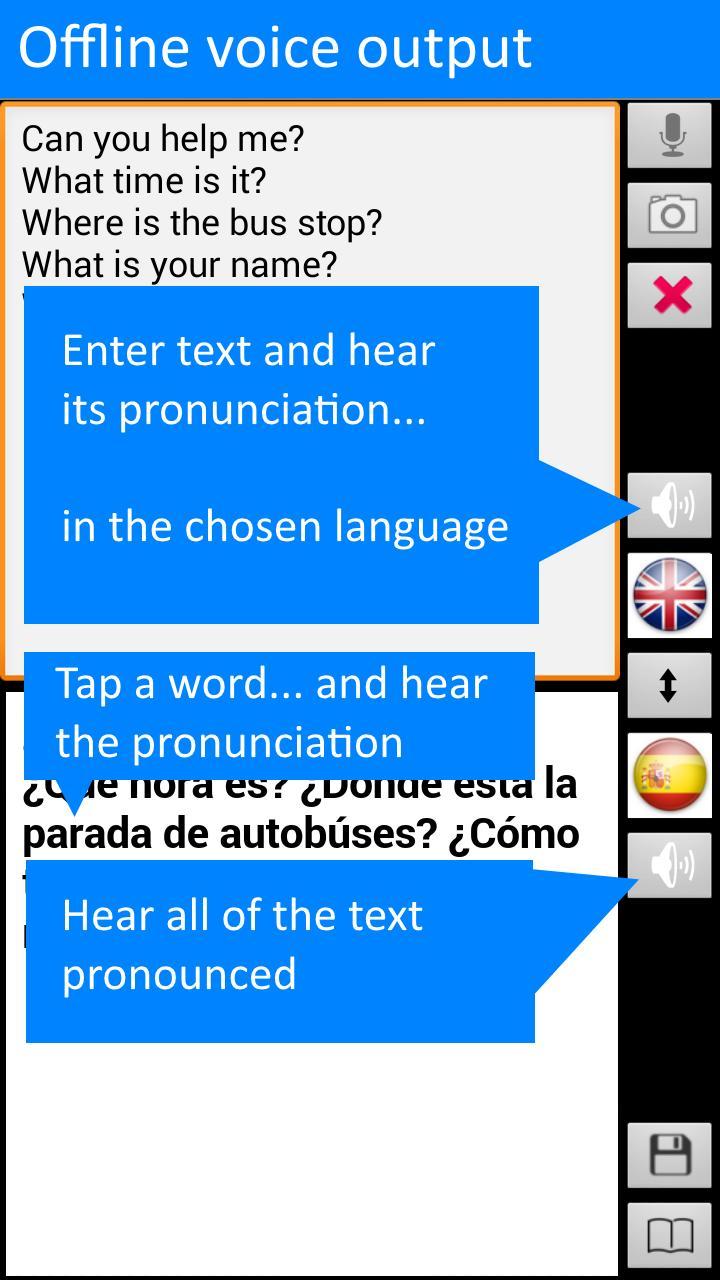 Offline Translator: Spanish-English Free Translate for