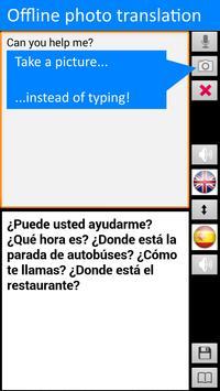 Traductor sin conexión: traducir inglés-español captura de pantalla 5