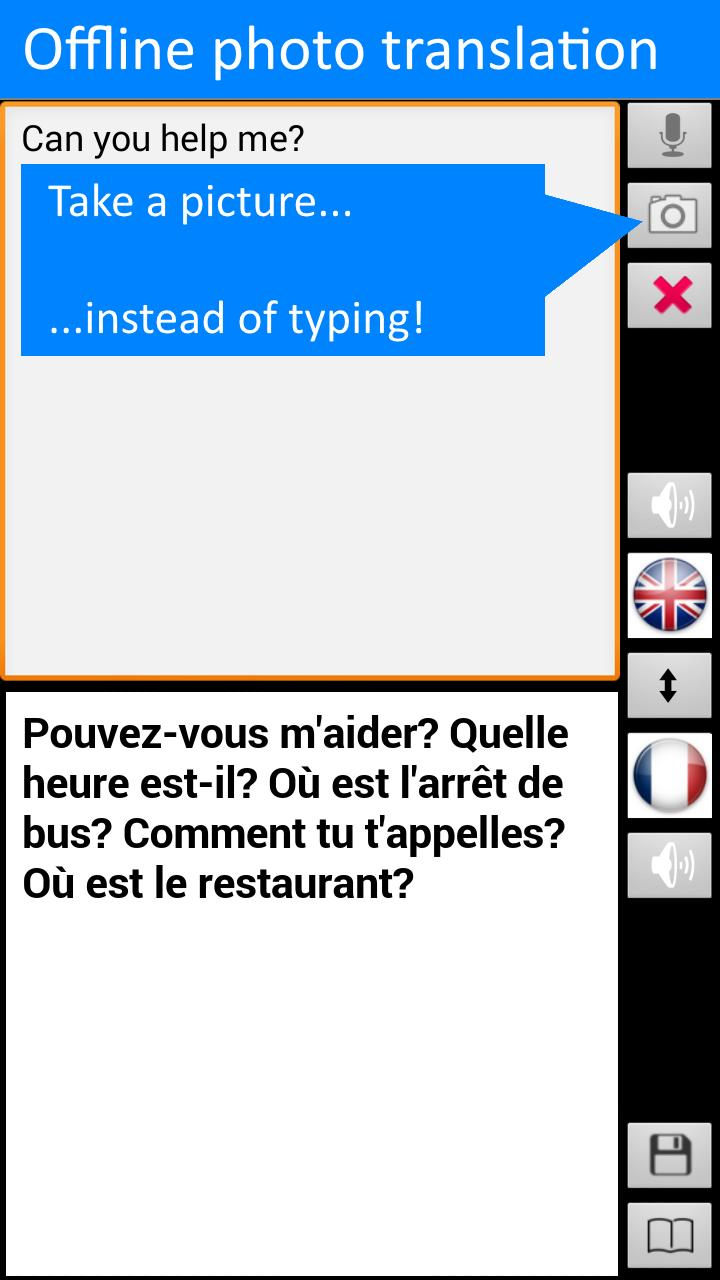 Offline Translator: French-English Free Translate for