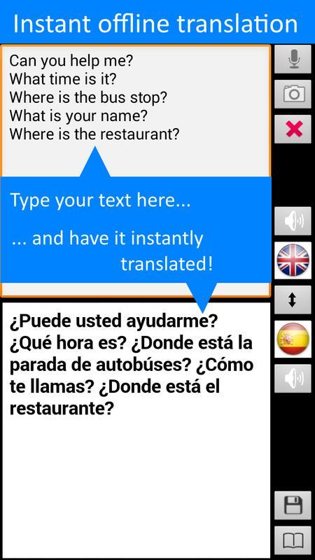 traductor ingles a español apk android