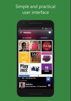 SkyJazz Radio apk screenshot