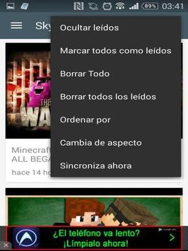 SkyDoes Minecraft apk screenshot