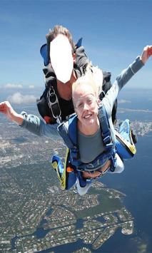 Skydiver Suit Photo Editor: Skydiving Photo Maker screenshot 1