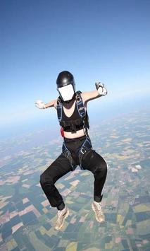 Skydiver Suit Photo Editor: Skydiving Photo Maker screenshot 2