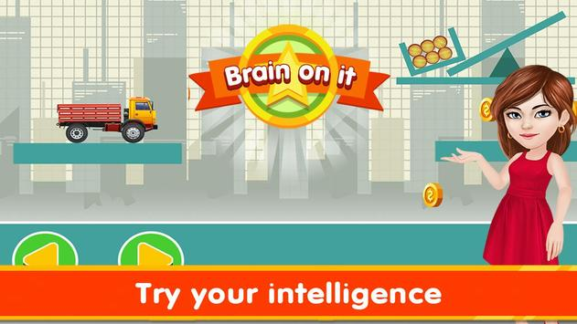 Brain It On - Wood Trucks Physics poster
