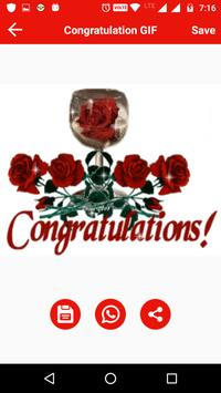 Congratulation Gif apk screenshot