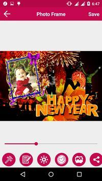 New Year Photo Frame apk screenshot