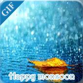 Rain Gif icon
