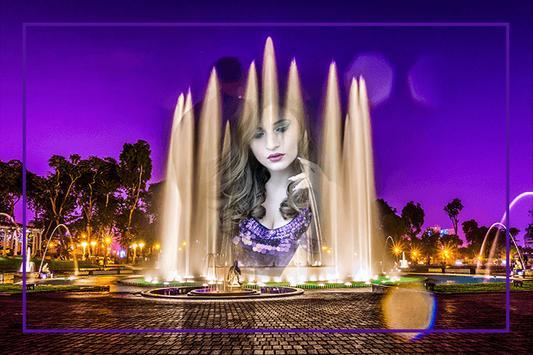 Water Fountain Photo Frames screenshot 1