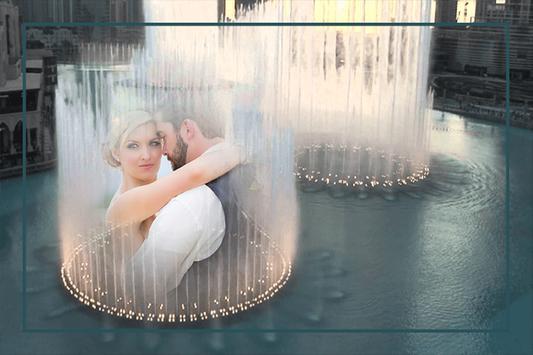 Water Fountain Photo Frames screenshot 2