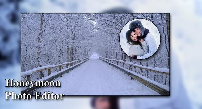 Honeymoon Photo Editor - Photo Frame poster