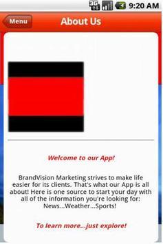 BrandVision Marketing screenshot 1