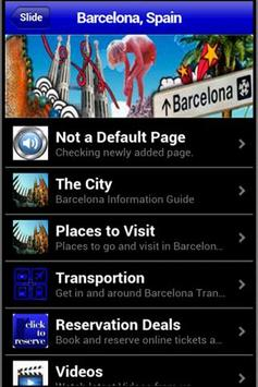Barcelona Travel Guide apk screenshot