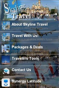 Skyline Travel App poster