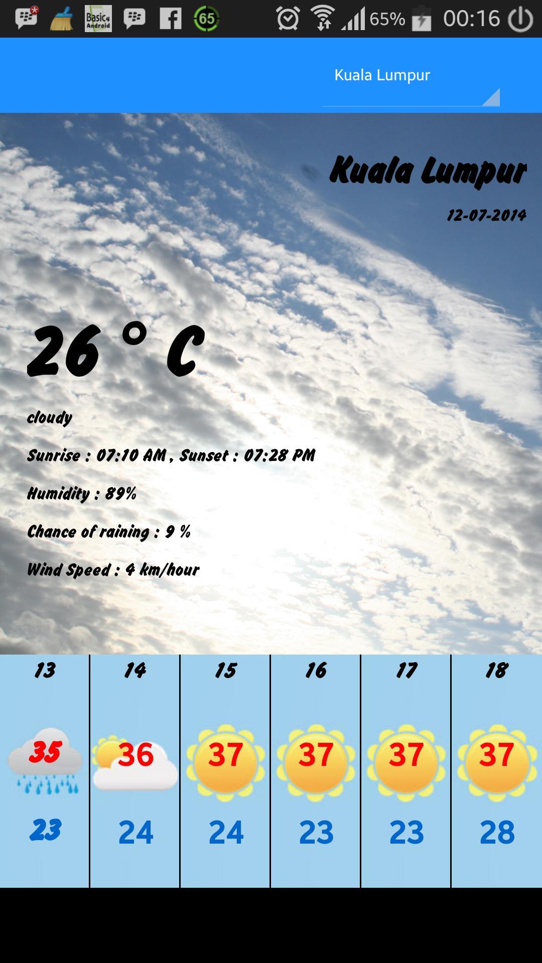 Ramalan Cuaca Malaysia For Android Apk Download