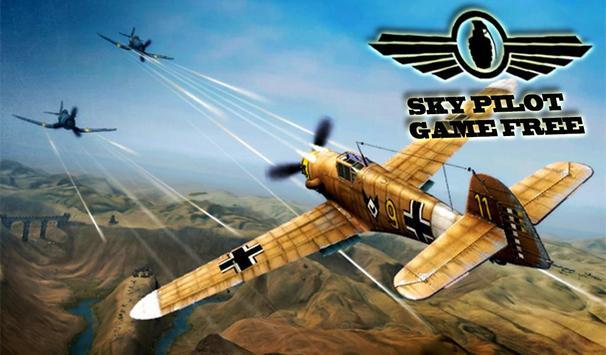 Sky Pilot Game free poster