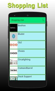 USA Shopping apk screenshot