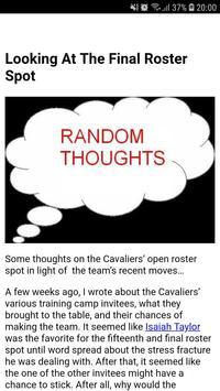 Latest Cleveland Cavaliers News screenshot 3