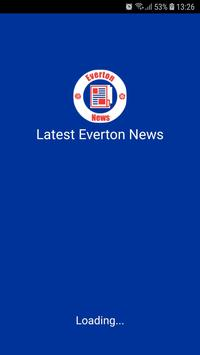 Latest Everton News poster