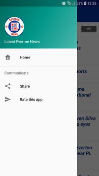 Latest Everton News screenshot 2